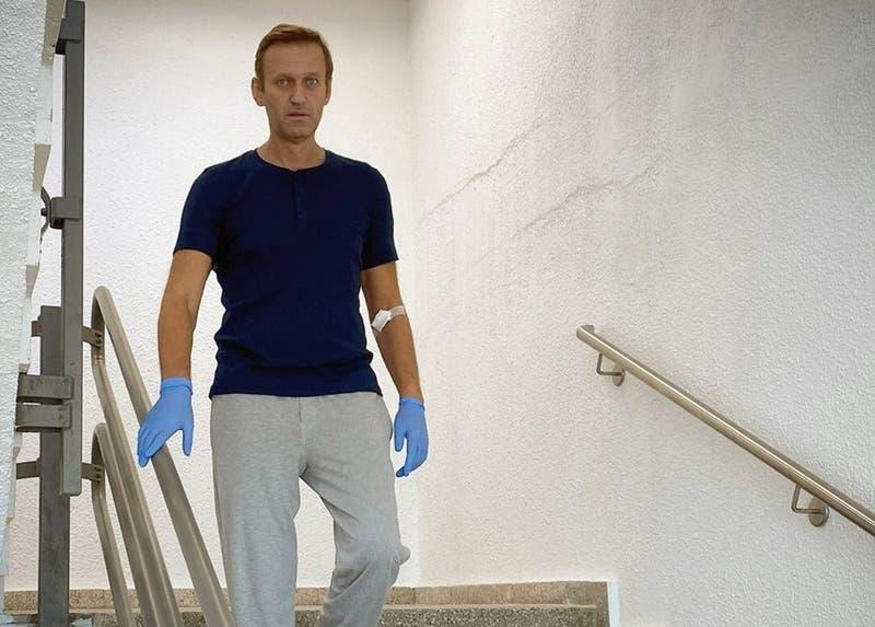 [FOTOS] Alexei Navalny: La dura recuperación del opositor ruso que fue envenenado