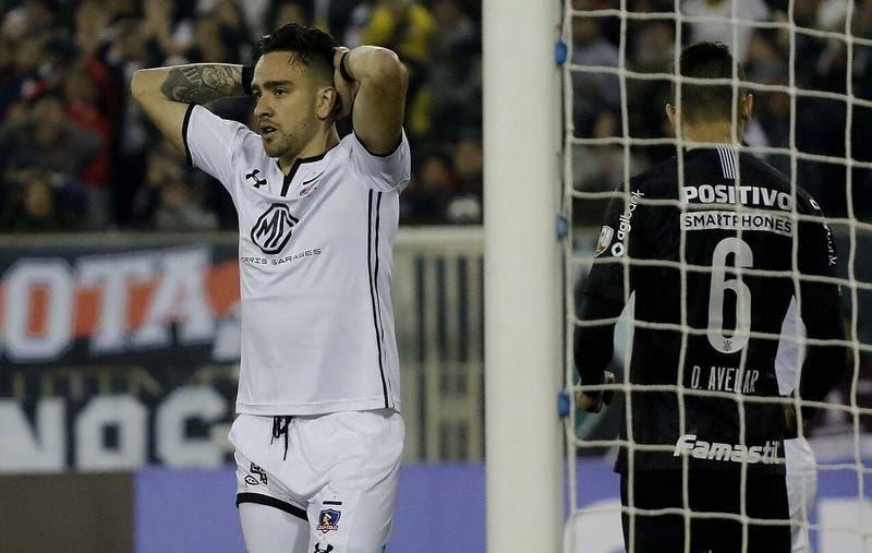 Sensible baja en Colo Colo: Matías Zaldivia se corta el tendón de Aquiles