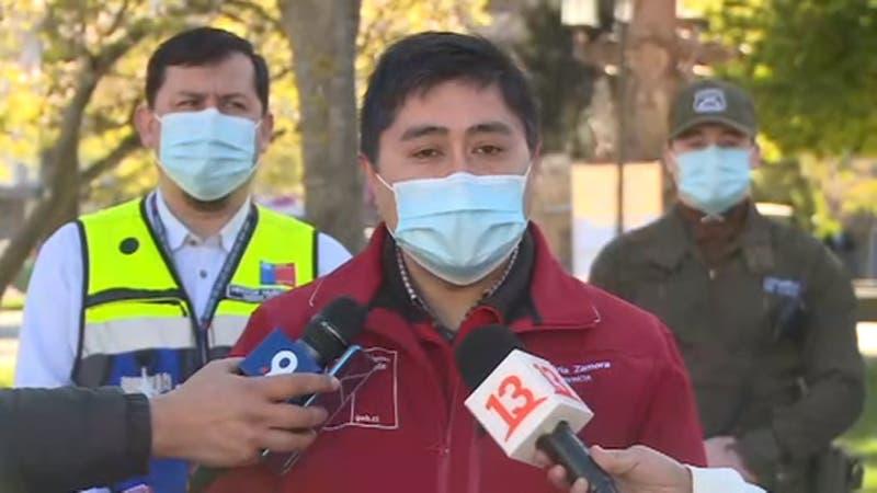 [VIDEO] Gobernador de Concepción, que estuvo en fiscalizaciones el viernes, se contagia de COVID-19