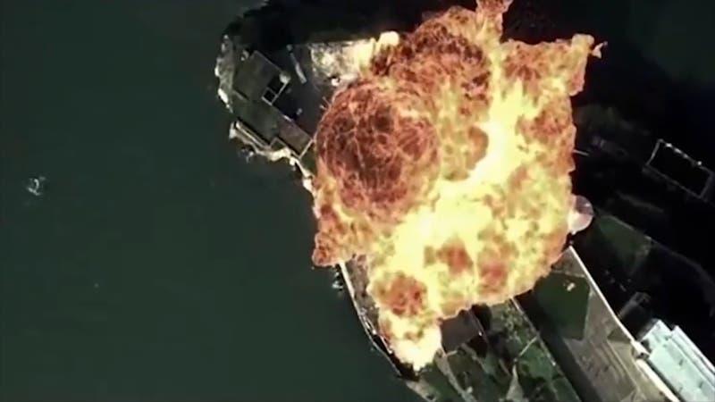 Inquietante video de China con imágenes en las que simula ataque a base militar de EEUU
