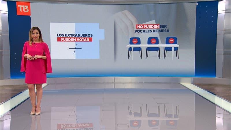 #TúDecides: ¿Pueden votar los extranjeros en el plebiscito?