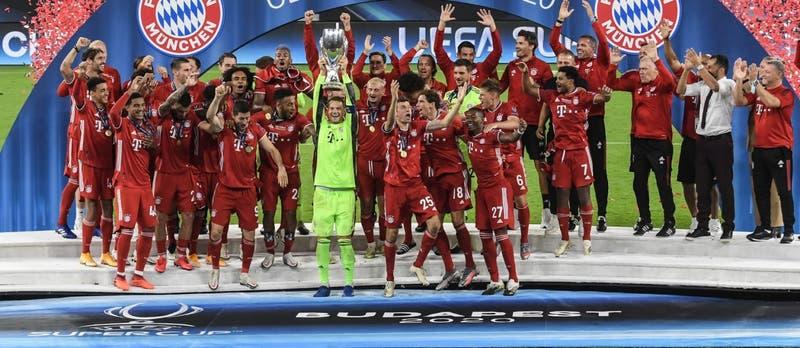 Bayern Munich vence en la prórroga al Sevilla y conquista la Supercopa de Europa