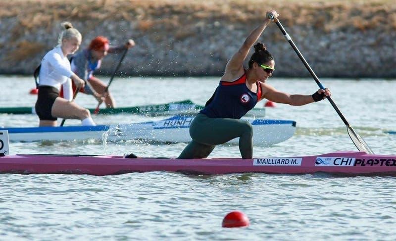 María José Mailliard gana oro en Copa del Mundo de canotaje