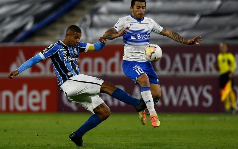 El XI confirmado de la UC para visitar a Gremio buscando seguir con vida en la Libertadores