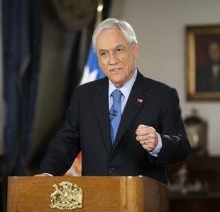 Presidente Piñera presenta presupuesto 2021 como el del trabajo y la recuperación económica