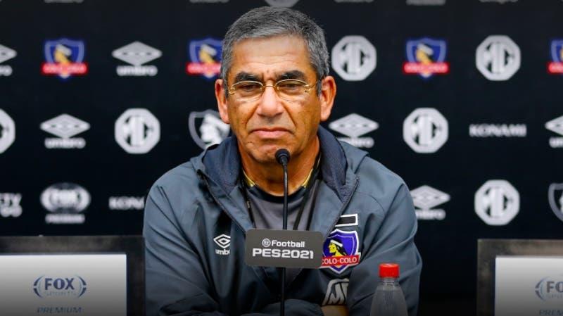 DT de Colo Colo explica por qué usó a César Fuentes y no a un juvenil