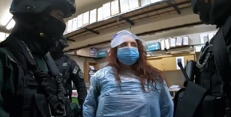 Revelan primeras imágenes de la madre de Ámbar Cornejo en la cárcel