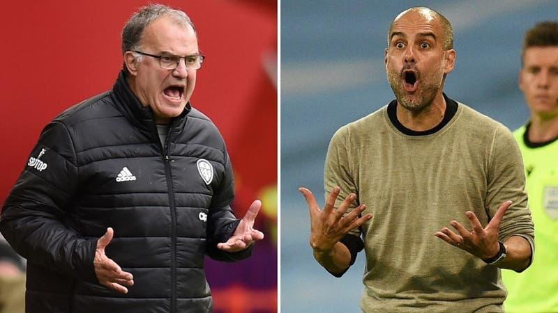 Leeds vs. Manchester City: Horario y dónde ver el choque entre Bielsa y Guardiola