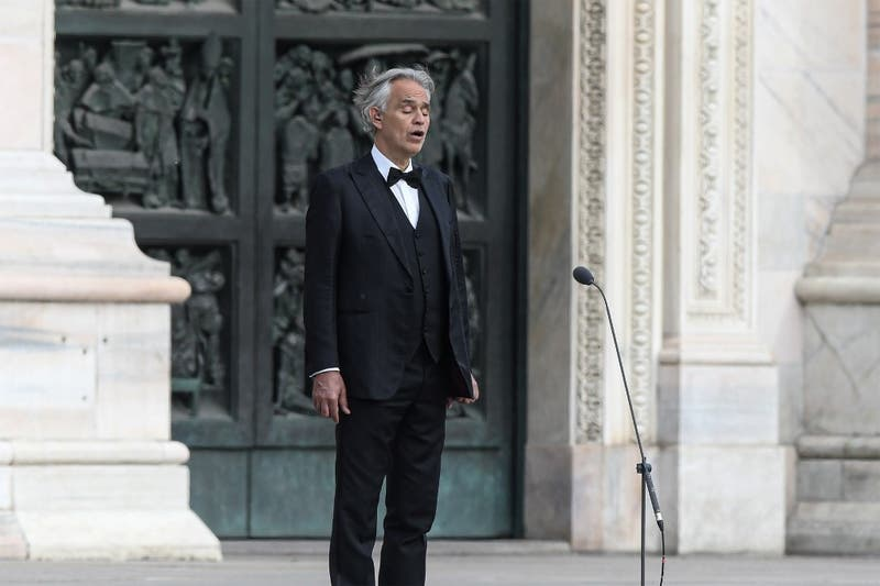 Andrea Bocelli lanza primer single de nuevo disco Believe