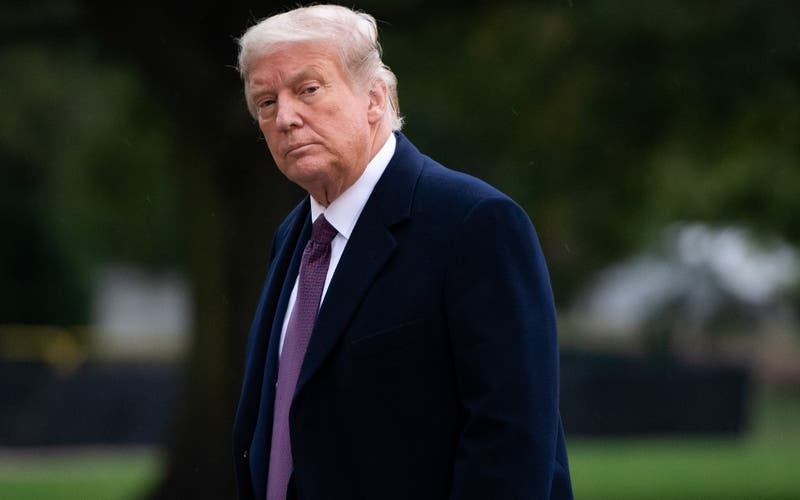 """Trump cataloga de """"animales"""" a quienes tumbaron estatuas de ex presidentes de Estados Unidos"""