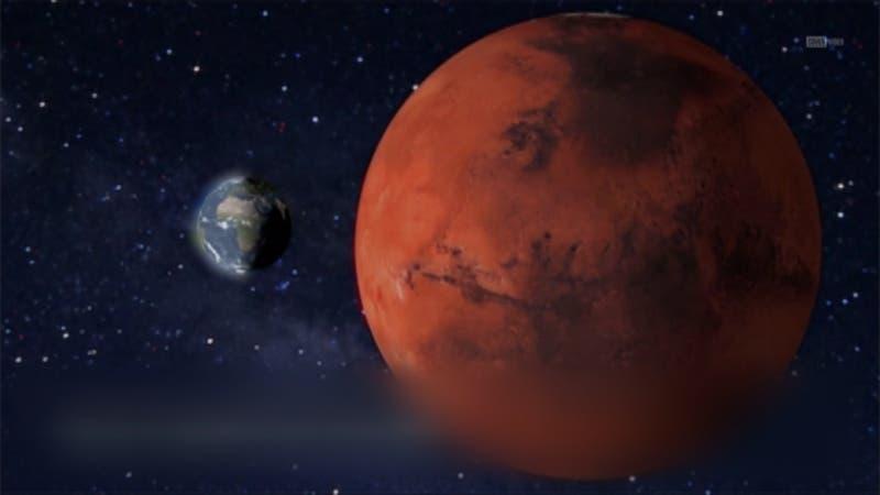 Fenómeno acercará a Marte con la Tierra: El planeta rojo se verá más grande y brillante