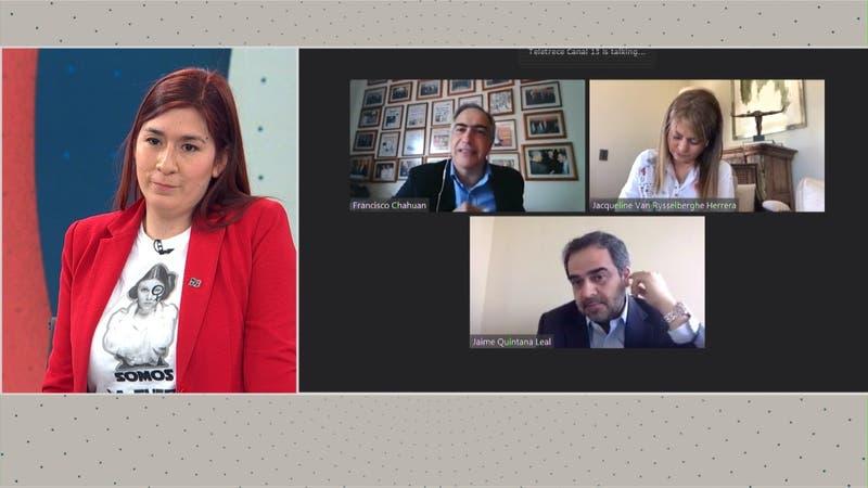 A un año del 18-O: Quintana, van Rysselberghe, Chahuán y Pérez rememoran acuerdo para el Plebiscito