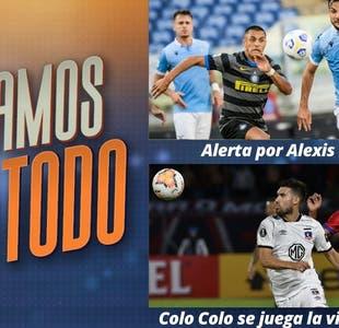 #JugamosConTodo: Alerta por Alexis Sánchez en el Inter de Milán