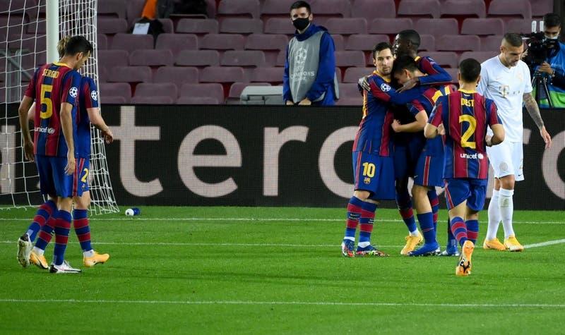FC Barcelona arranca con una goleada sobre Ferencvaros en la Champions League