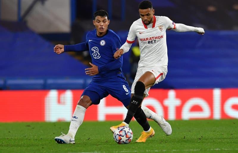 Chelsea y Sevilla igualan sin goles en primera jornada de la Liga de Campeones