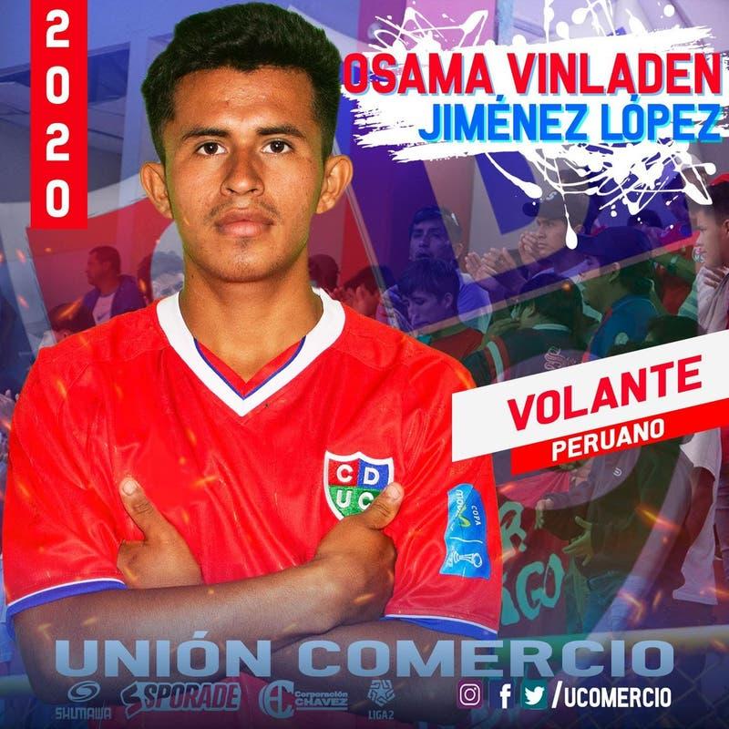 "Futbolista peruano Osama Vinladen: ""Mi hermano se llama Sadam Husein"""