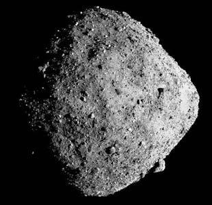 Audaz maniobra de la nave espacial Osiris-Rex para tocar al asteroide Bennu y recolectar muestras