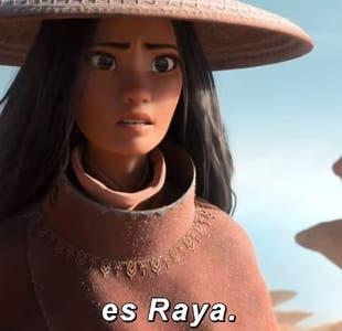 Disney lanza primer tráiler de Raya y el último dragón