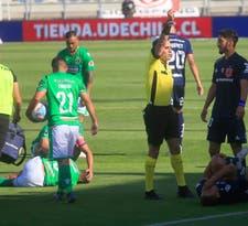 La U deja escapar la victoria ante Audax Italiano y empata con uno menos y Montillo lesionado