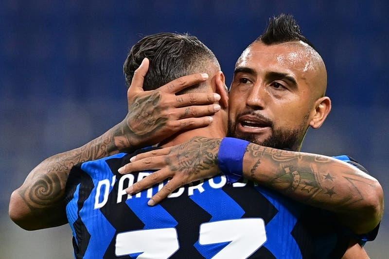 La formación del Inter de Milán para enfrentar al Genoa