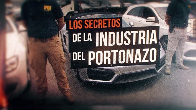 "Reportajes T13: Los secretos de la ""industria del portonazo"""