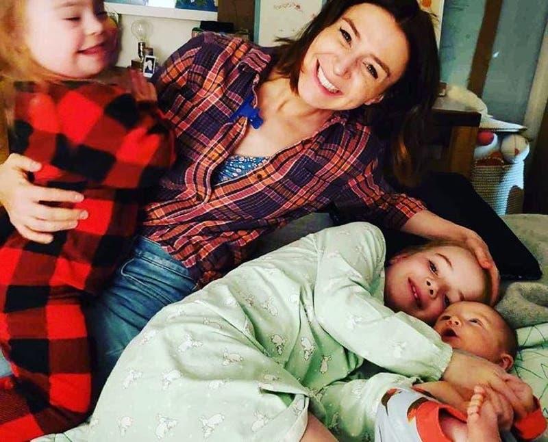 Grey's anatomy: Caterina Scorsone y su hija con síndrome de down