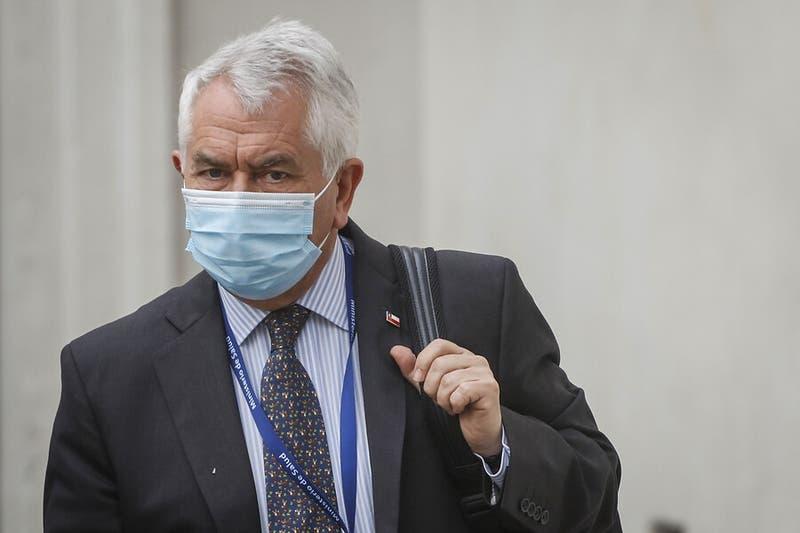 Ministro Paris pedirá que las personas usen mascarillas dentro de sus casas en Puerto Montt