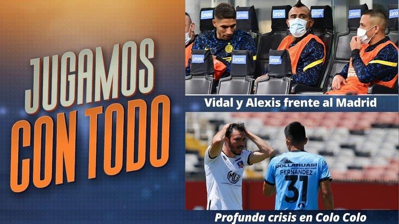 #JugamosConTodo: Vidal y Alexis desafían junto al Inter al Real Madrid por la Champions