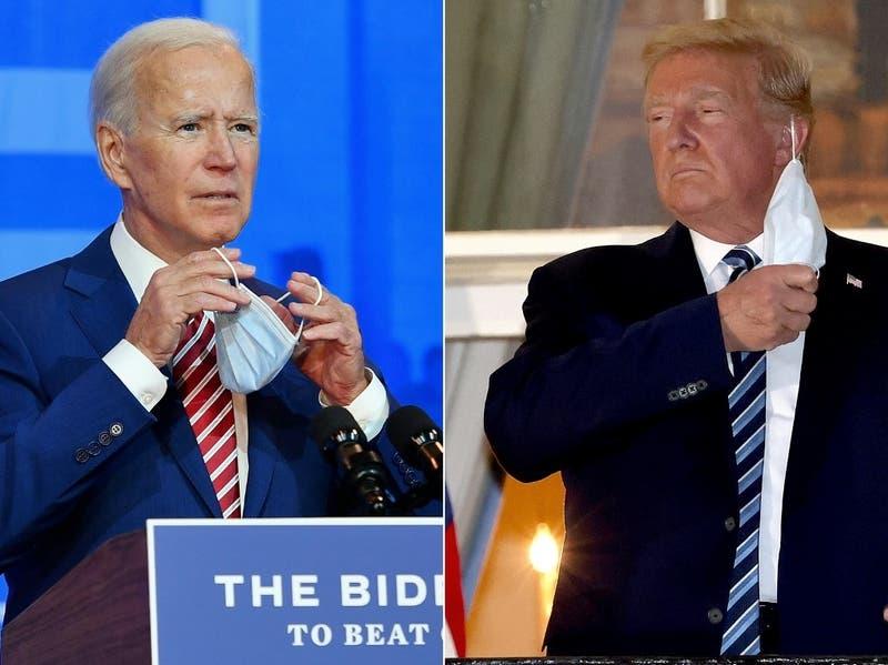 El mapa con los resultados de las elecciones en EEUU: Trump vs. Biden, estado por estado