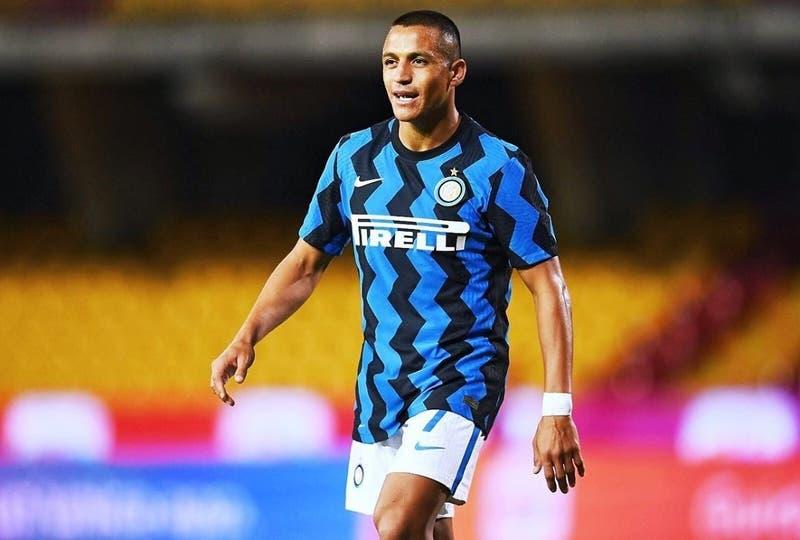 La formación del Inter de Milán para enfrentar al Atalanta