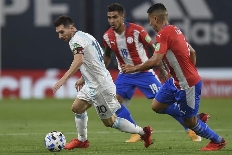 Argentina solo empata ante Paraguay en La Bombonera por las Clasificatorias a Qatar 2022