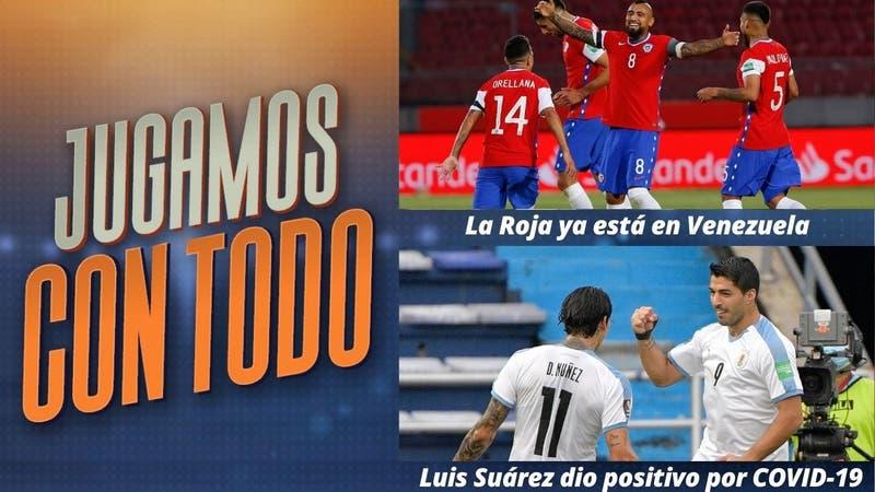 #JugamosConTodo: La Roja ya está en Venezuela para un nuevo duelo por las Clasificatorias