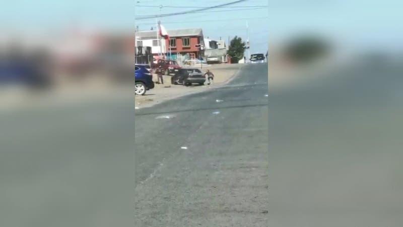 [VIDEO] PDI investiga intento de homicidio: tras choque hombre fue baleado en su cabeza