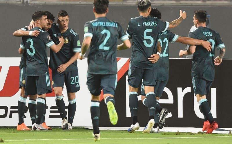 Argentina se impone en Lima frente a un Perú que sigue sin ganar en las Clasificatorias