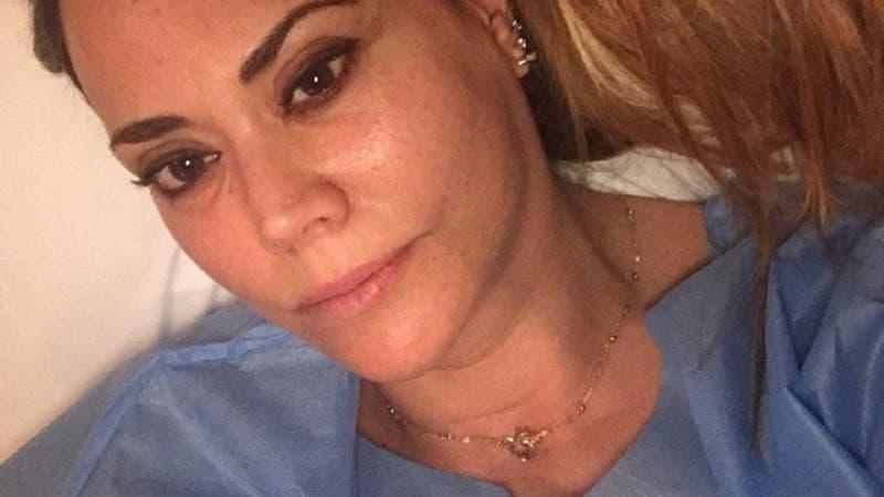 """Daniella Campos explica crisis tras operación al cerebro: """"No sé cuándo voy a salir de aquí"""""""