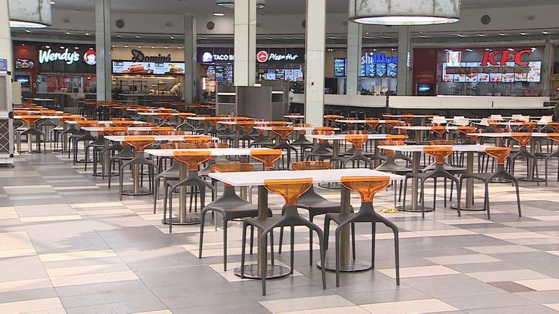 [VIDEO] Vuelven los patio de comida de los malls en comunas en Fase 4