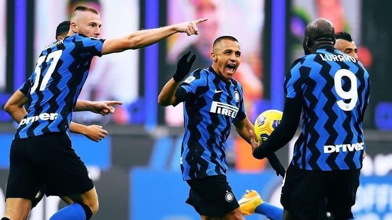 Alexis comandó remontada del Inter: se matriculó con gol y asistencia ante el Torino