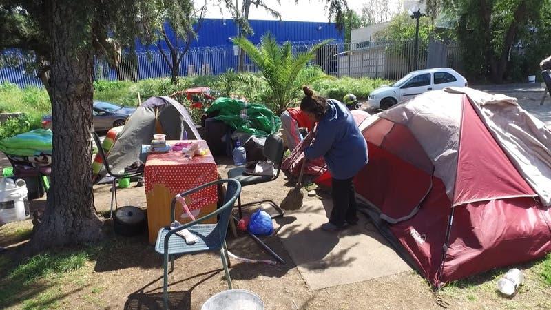 [VIDEO] Entre 14 mil y 18 mil carpas se han instalado en las calles