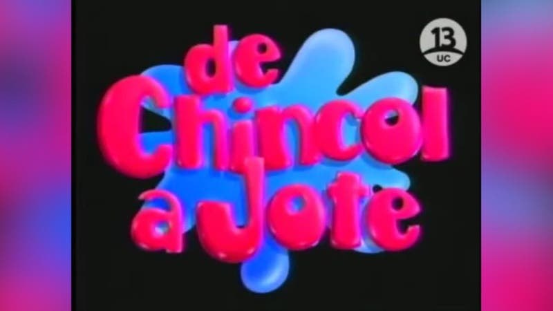 """""""De chincol a jote"""": Un clásico del humor en la TV"""
