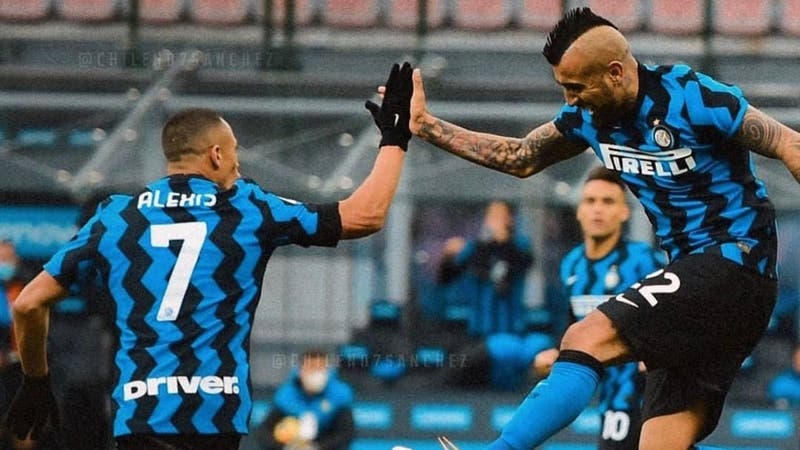 La formación del Inter de Alexis y Vidal para enfrentar al Sassuolo