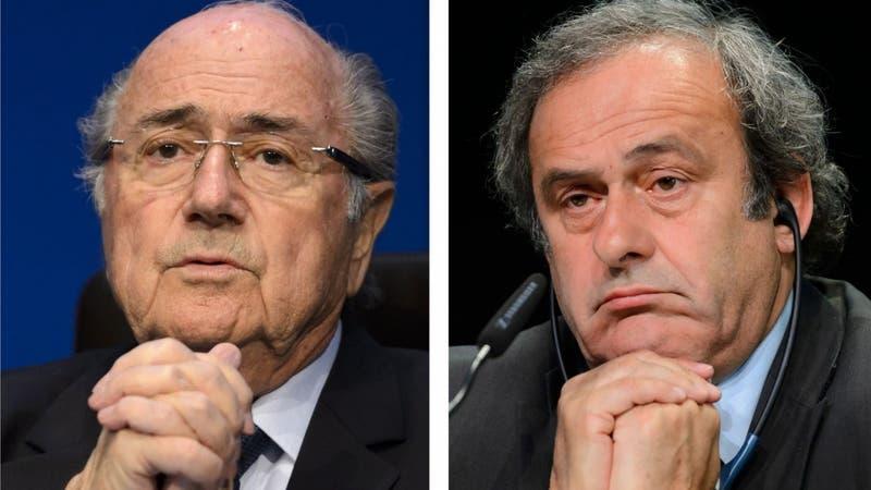 Platini y Blatter son acusados de estafa en Suiza