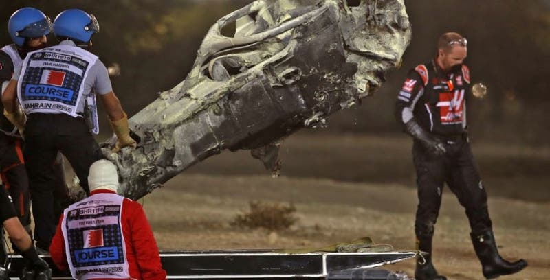 Grosjean sobrevive a accidente: Mi hijo cree que tengo poderes
