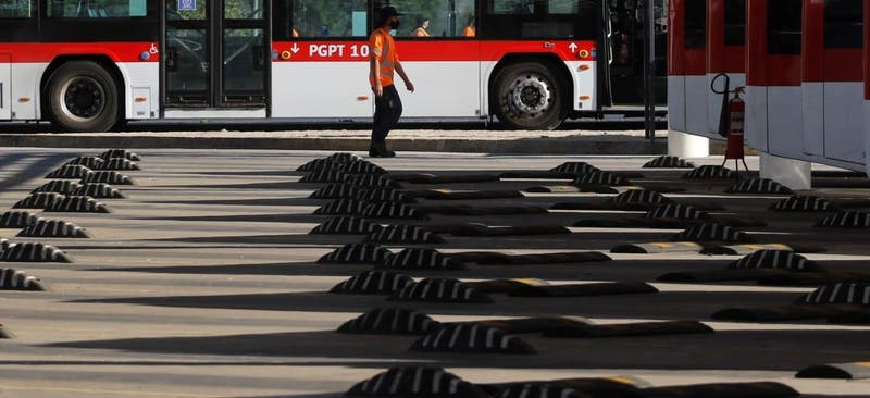 Inauguran electroterminal para transporte público RED