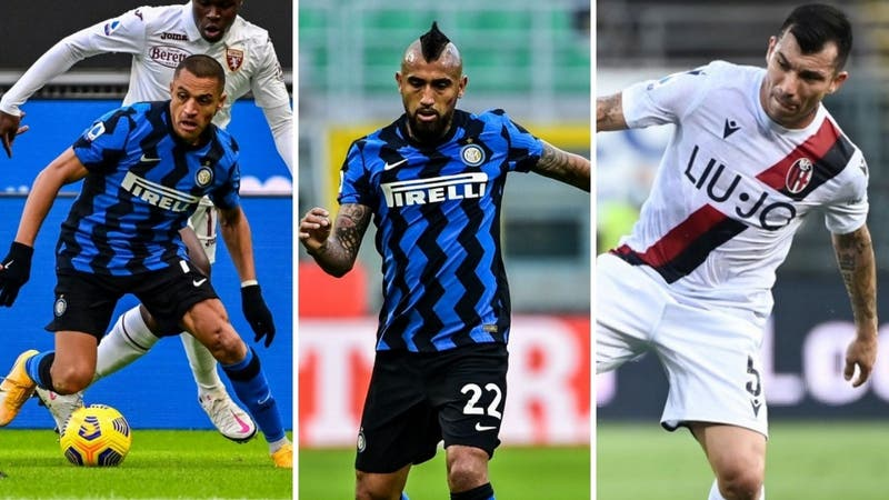 Inter-Bologna: Horario y donde ver el duelo entre Alexis, Vidal y Gary Medel