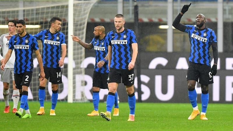 Inter de Alexis y Vidal se impone con jerarquía ante el Bologna de Medel