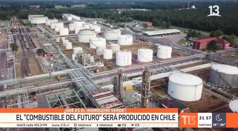 """Hidrógeno Verde: El """"combustible del futuro"""" será producido en Chile"""