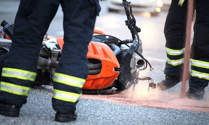 Joven motociclista de 18 años murió tras chocar contra un furgón en San Miguel