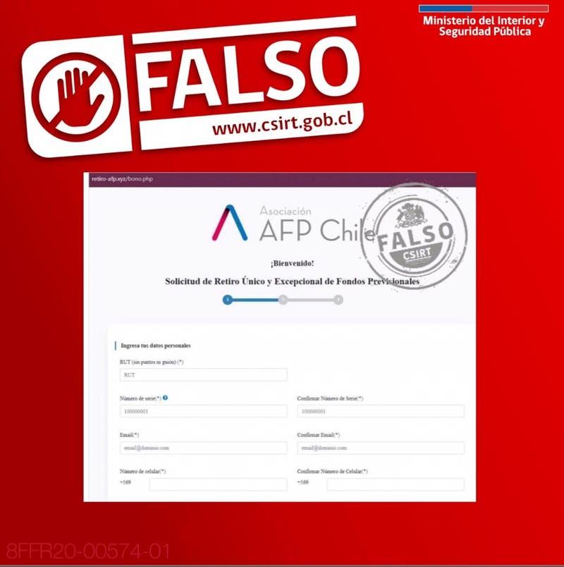 Autoridades advierten cómo pueden ser las posibles estafas con el segundo retiro del 10% de AFP