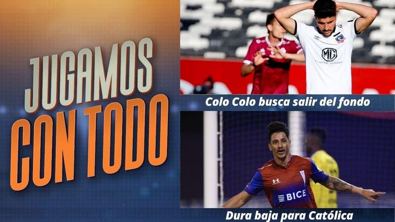 #JugamosConTodo: Colo Colo busca salir del fondo y la UC sufre dura baja