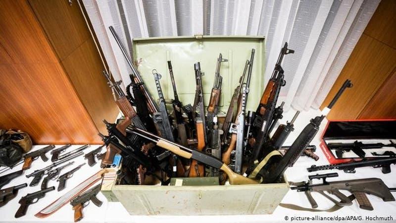 Austria confisca armas destinadas a grupo de extrema derecha en Alemania